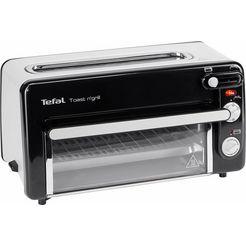 tefal toaster tl6008 toast n' grill mini-oven zwart
