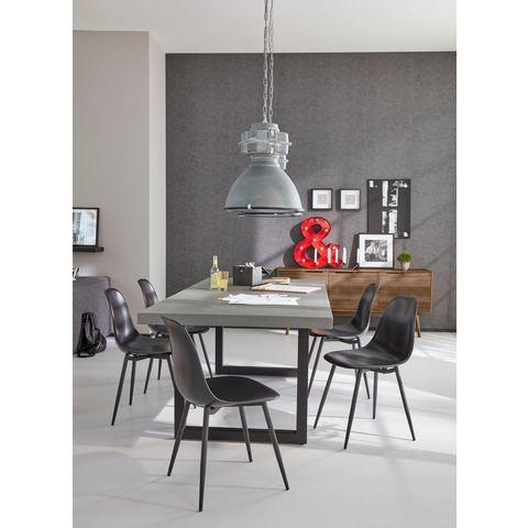 Eettafels SIT eettafel Tops met cementen tafelblad 712335