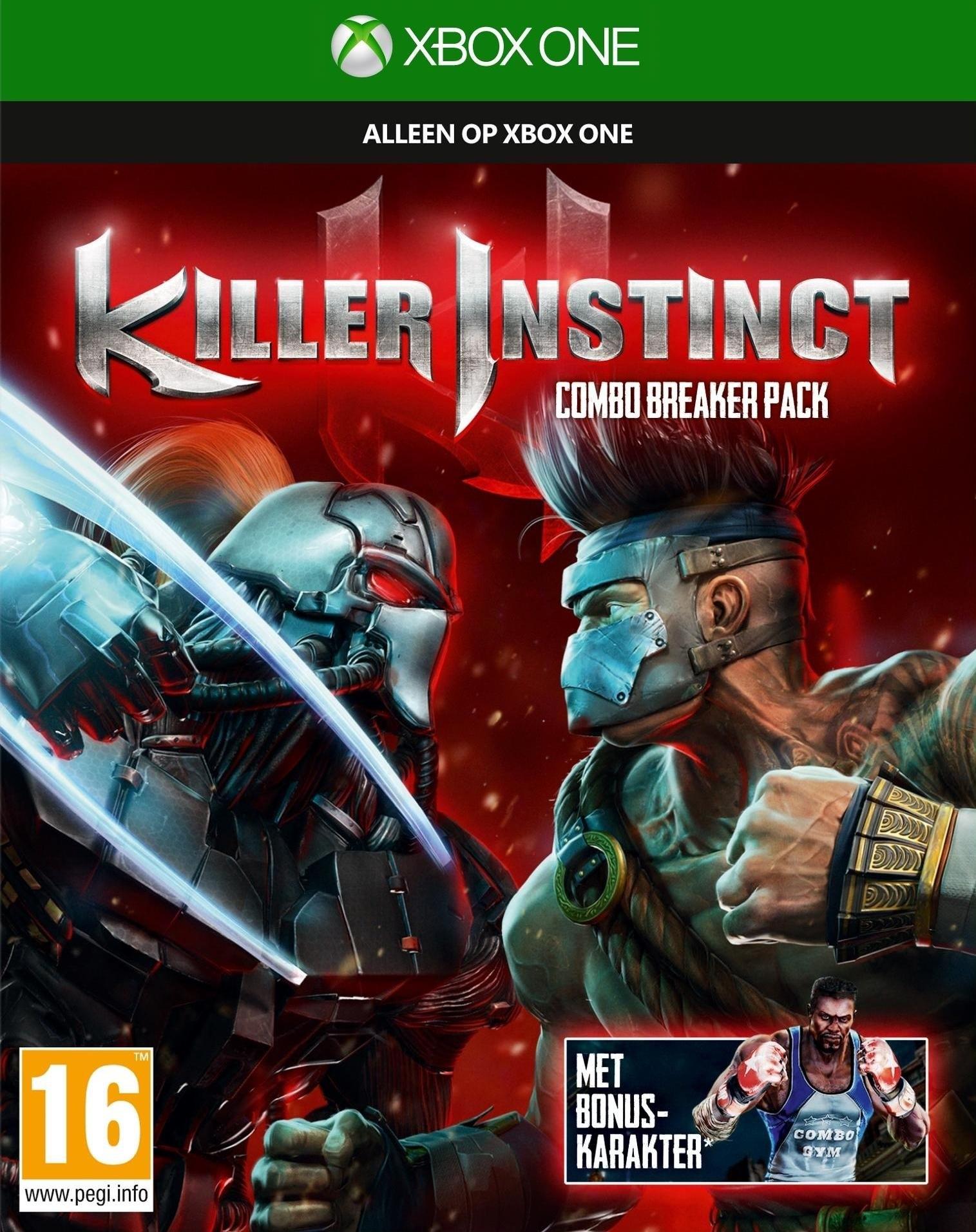 Microsoft Xbox One ,  Killer Instinct (Combo Breaker Pack) online kopen op otto.nl