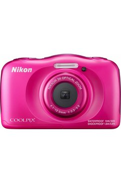 Coolpix W100 compactcamera, 13,2 megapixel, 3x optische zoom, 6,7 cm (2,7 inch) display