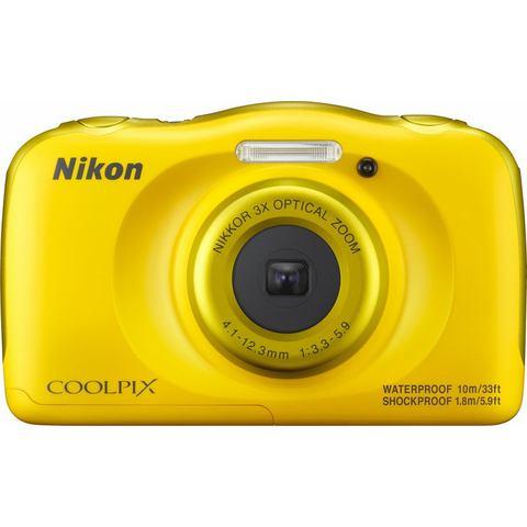Nikon Coolpix W100 compact camera Geel