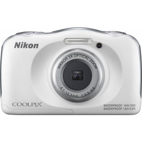 Nikon Coolpix W100 compact camera Wit