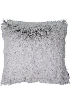 kussenovertrek, tom tailor, »fluffy« (per stuk) grijs
