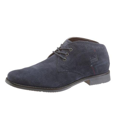 Dames schoen: BUGATTI hoge veterschoenen