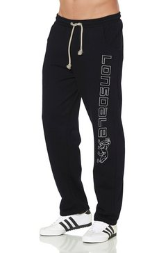 lonsdale sweatbroek jogging pants stonefield zwart