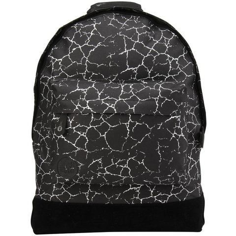 mi pac. rugzak met laptopvak, Backpack, Cracked Black Silver