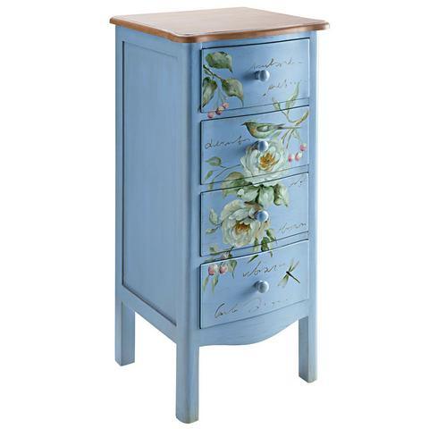 Wastafelonderkast blauwe badkamer onderkast 33