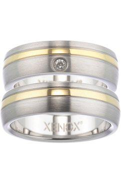 xenox partnerring xenox  friends, x1681, x1682 naar keuze met of zonder zirkoontjes zilver