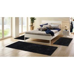 hoogpolige slaapkamerset, 3-dlg., home affaire collection, »viva«, hoogte 45 mm, geweven multicolor