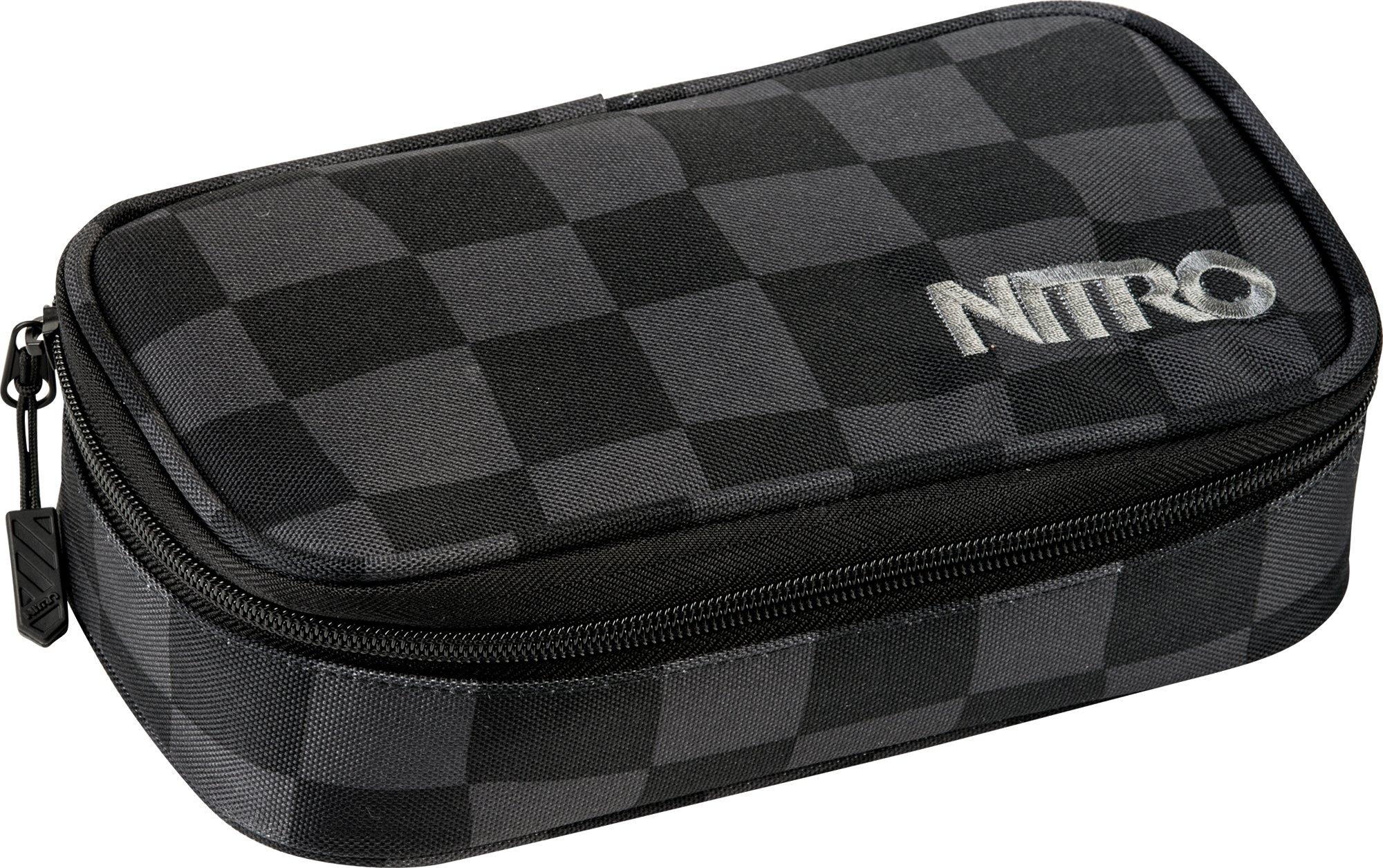 Nitro schrijfetui, »Pencil Case XL Black Checker« in de webshop van OTTO kopen