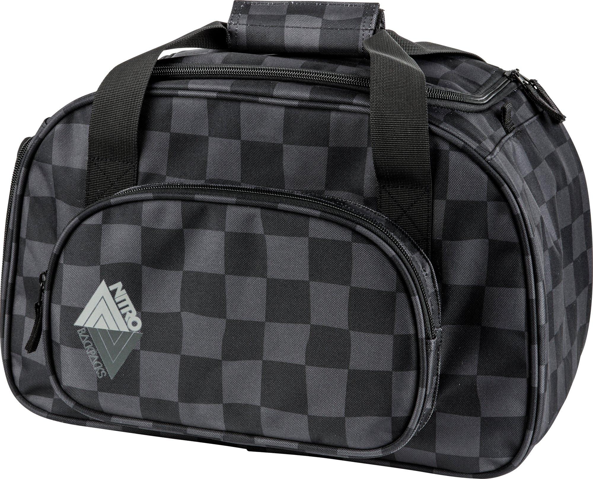 NITRO reistas met schoenenvak, »Duffle Bag XS Black Checker« nu online bestellen
