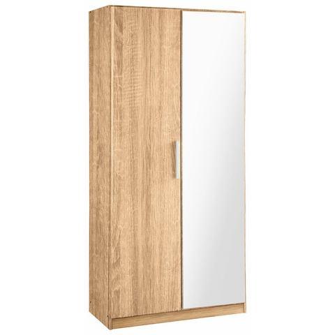 RAUCH garderobekast Minosa, met spiegel, breedte 91 cm