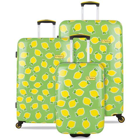 NU 15% KORTING: b-hppy 3-delige trolley set met 2/4 rollers, »Easy Peasy Lemon Squeezy«