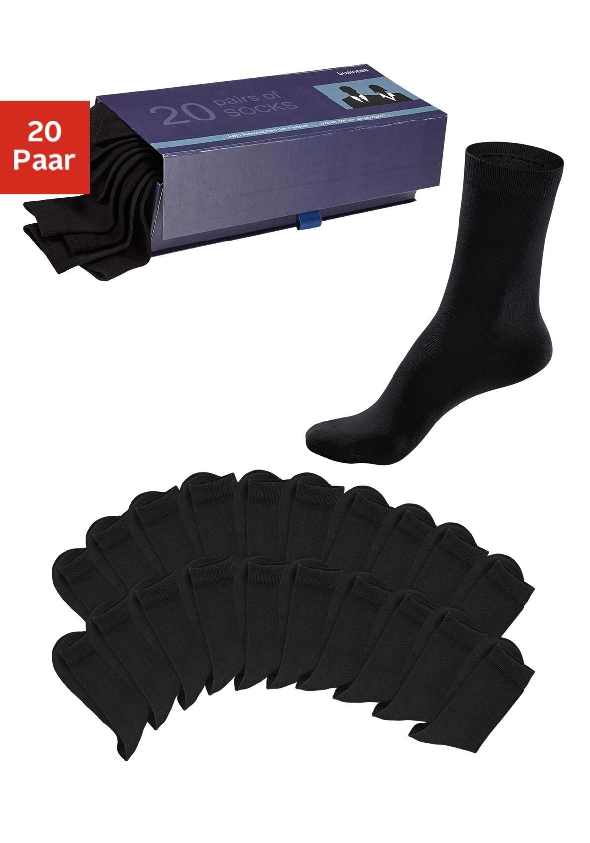 TOM TAILOR sokken (set van 20 paar) - gratis ruilen op otto.nl