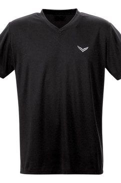 trigema shirt zwart