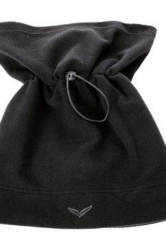 trigema sjaalkraag zwart