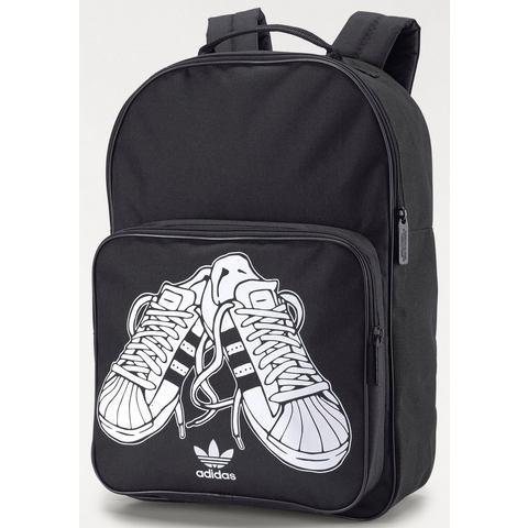Adidas Classic Sport Backpack Black-White