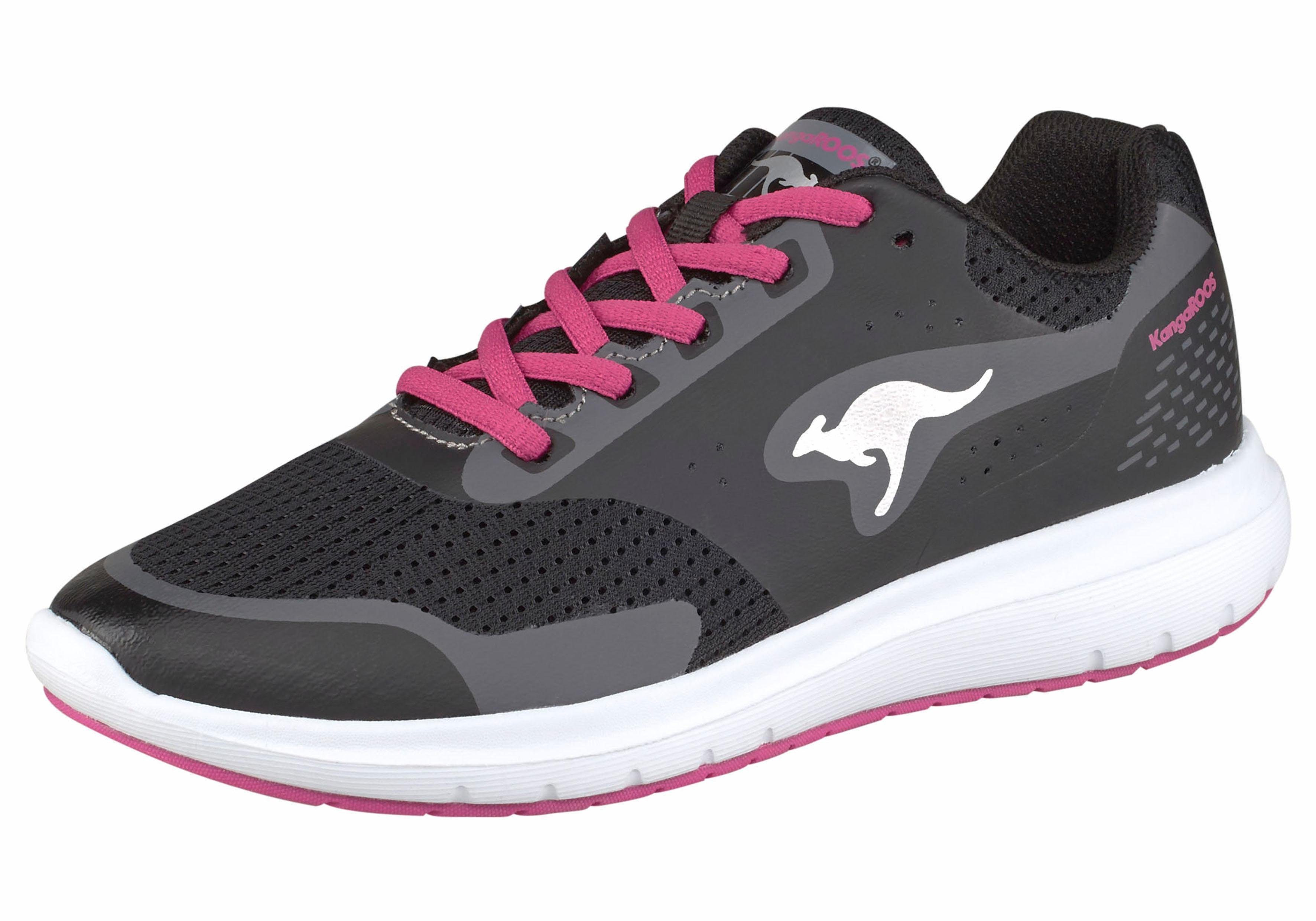 Chaussures De Sport Kangourous Faible Noir ijvbi6