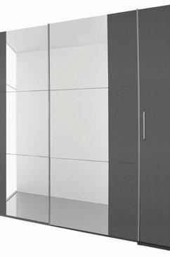 draai-/zweefdeurkast met spiegel