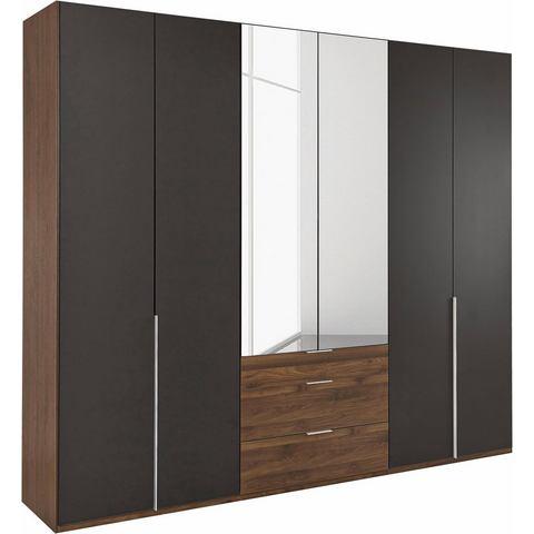 Kledingkasten Wimex garderobekast met spiegeldeuren en laden New York 563971