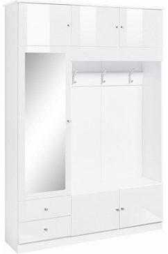 borchardt moebel kledingkast kompakta hoogte 202 cm wit