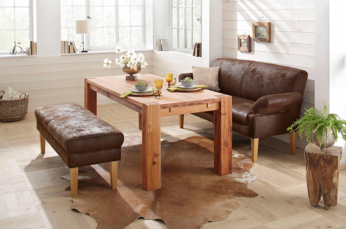 HOME AFFAIRE 3-zits eetbank Malmö, als meubel voor de eethoek