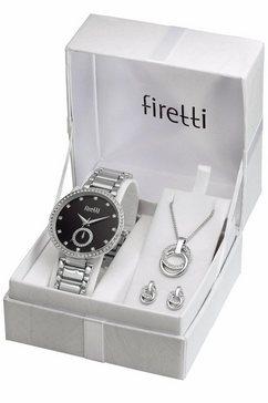 firetti kwartshorloge (set, 4-dlg.) zilver