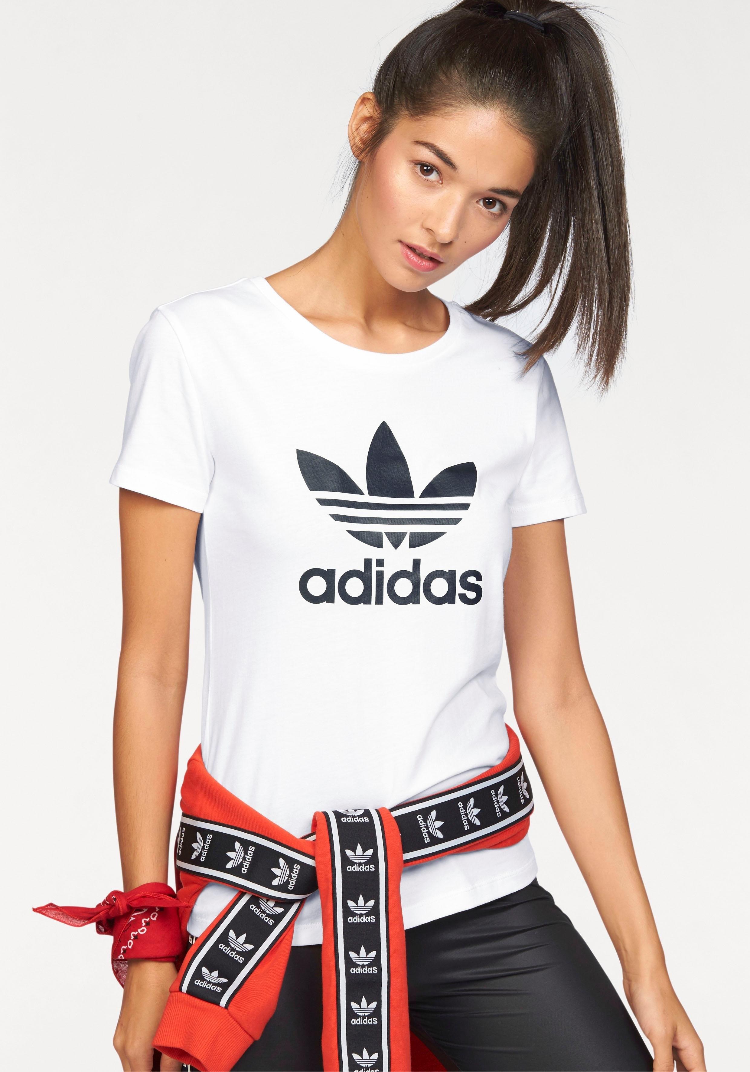 adidas Originals T-shirt TREFOIL TEE in de webshop van OTTO kopen