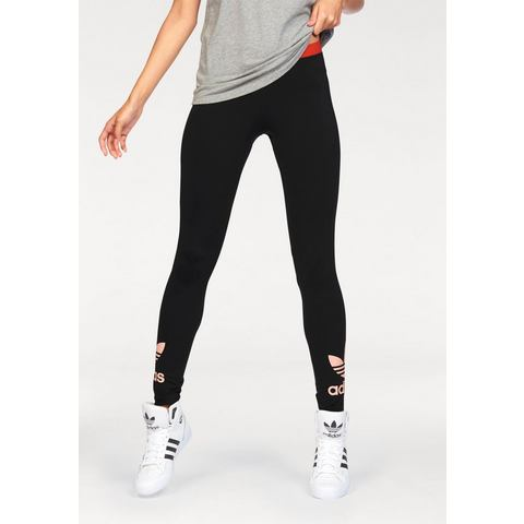 NU 15% KORTING: ADIDAS ORIGINALS legging »TREFOIL LEGGINGS«