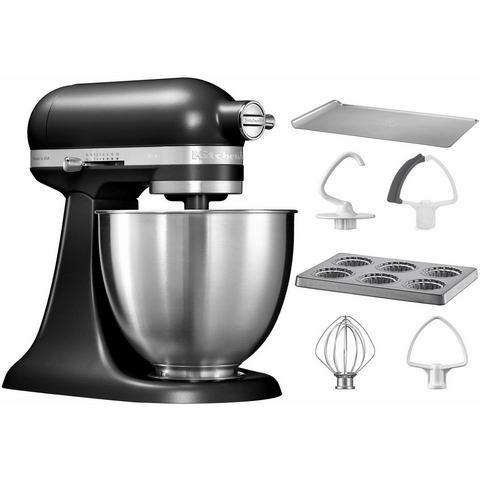 KITCHENAID® minikeukenmachine 5KSM3311XEBM met extra accessoire t.w.v. €106