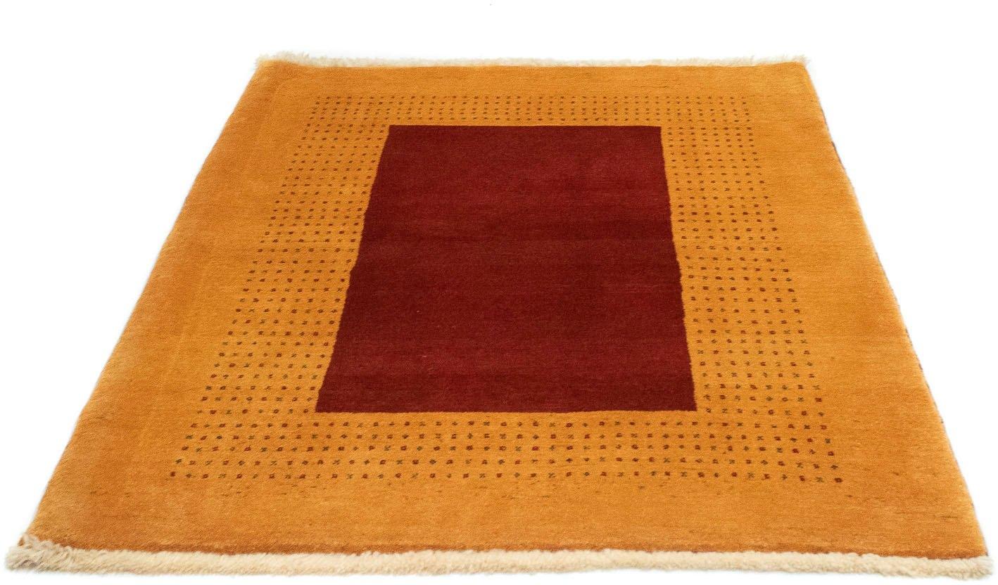morgenland wollen kleed Loribaft Teppich handgeknüpft gold handgeknoopt bij OTTO online kopen