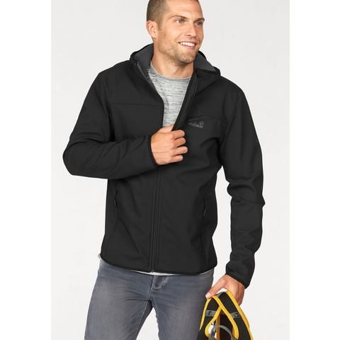 JACK WOLFSKIN softshell-jack »NORTHERN POINT«
