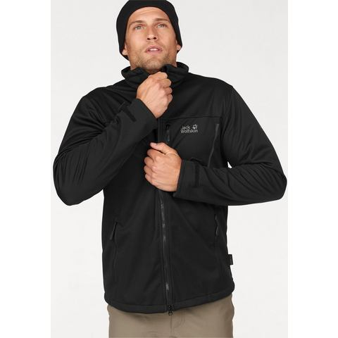 NU 20% KORTING: JACK WOLFSKIN softshell-jack »THE EMERALD MEN«