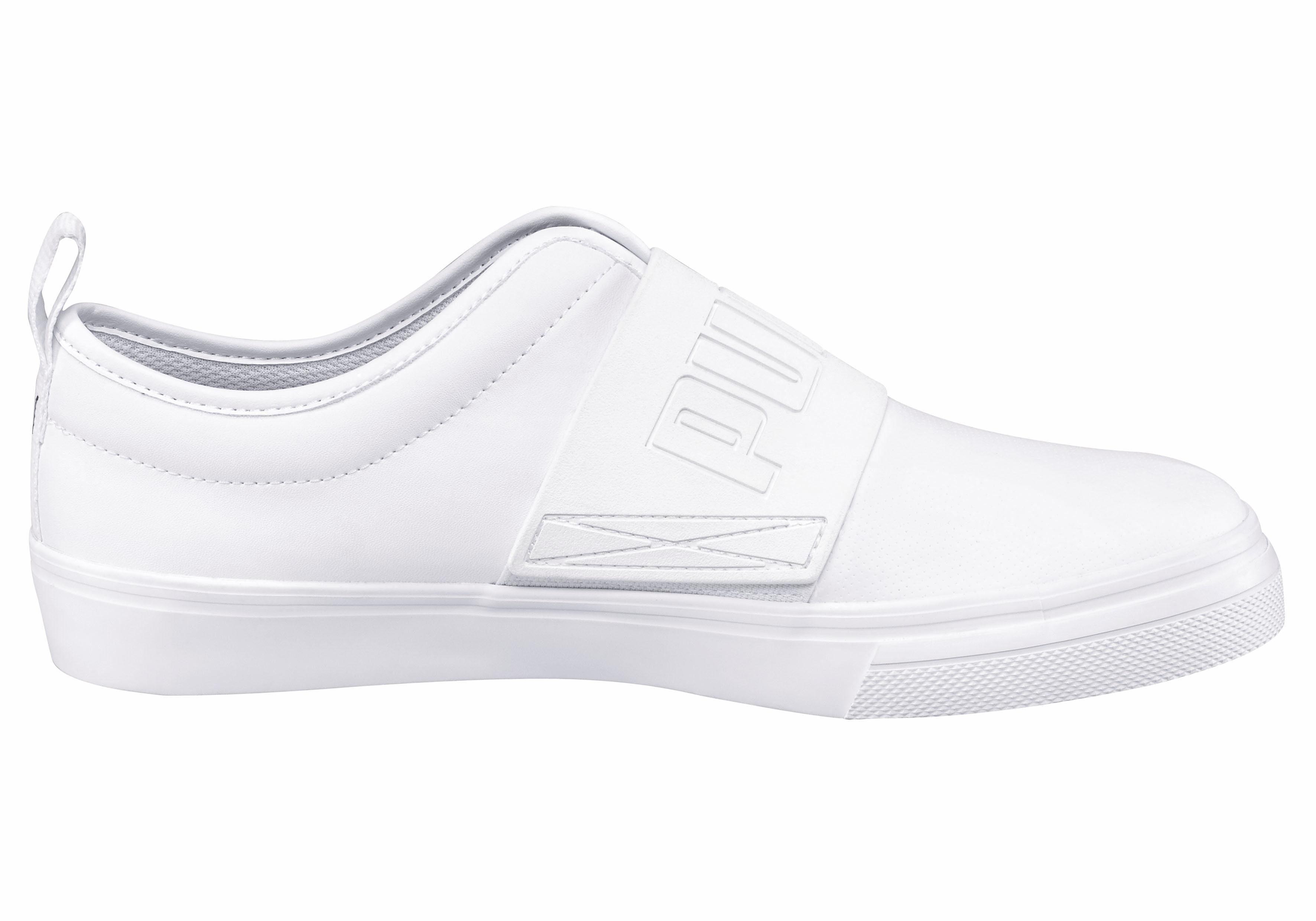 Blanc Puma El Rey Chaussures Avec Velcro Pour Les Hommes 5mph8rG
