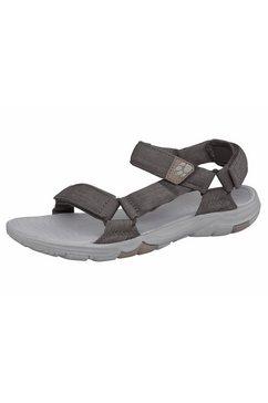 jack wolfskin outdoorsandalen »seven seas 2 sandal w« grijs