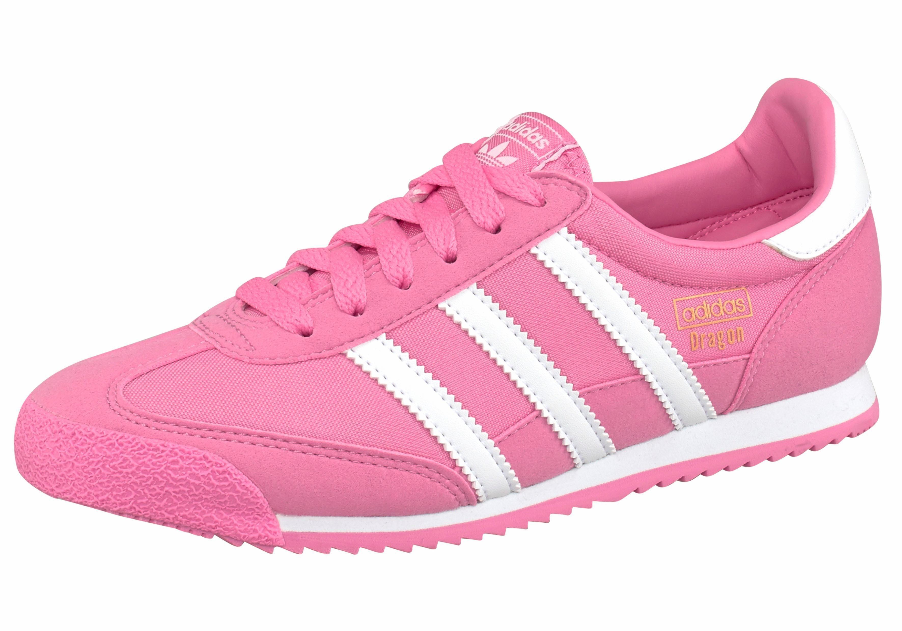 adidas dragon baby roze