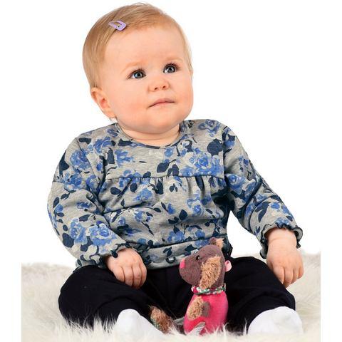 TRIGEMA Shirt met lange mouwen - bloemen