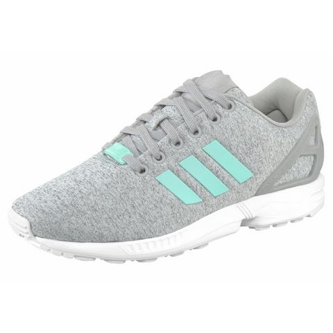 Adidas ZX Flux W Sneakers Medium Grey Heather-Easy Mint-Ftwr White