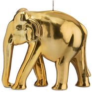 wiedemann big edition decoratieve kaars »olifant«, goudkleur goud