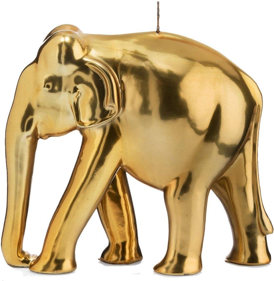 Wiedemann BIG Edition decoratieve kaars »Olifant«, goudkleur - verschillende betaalmethodes