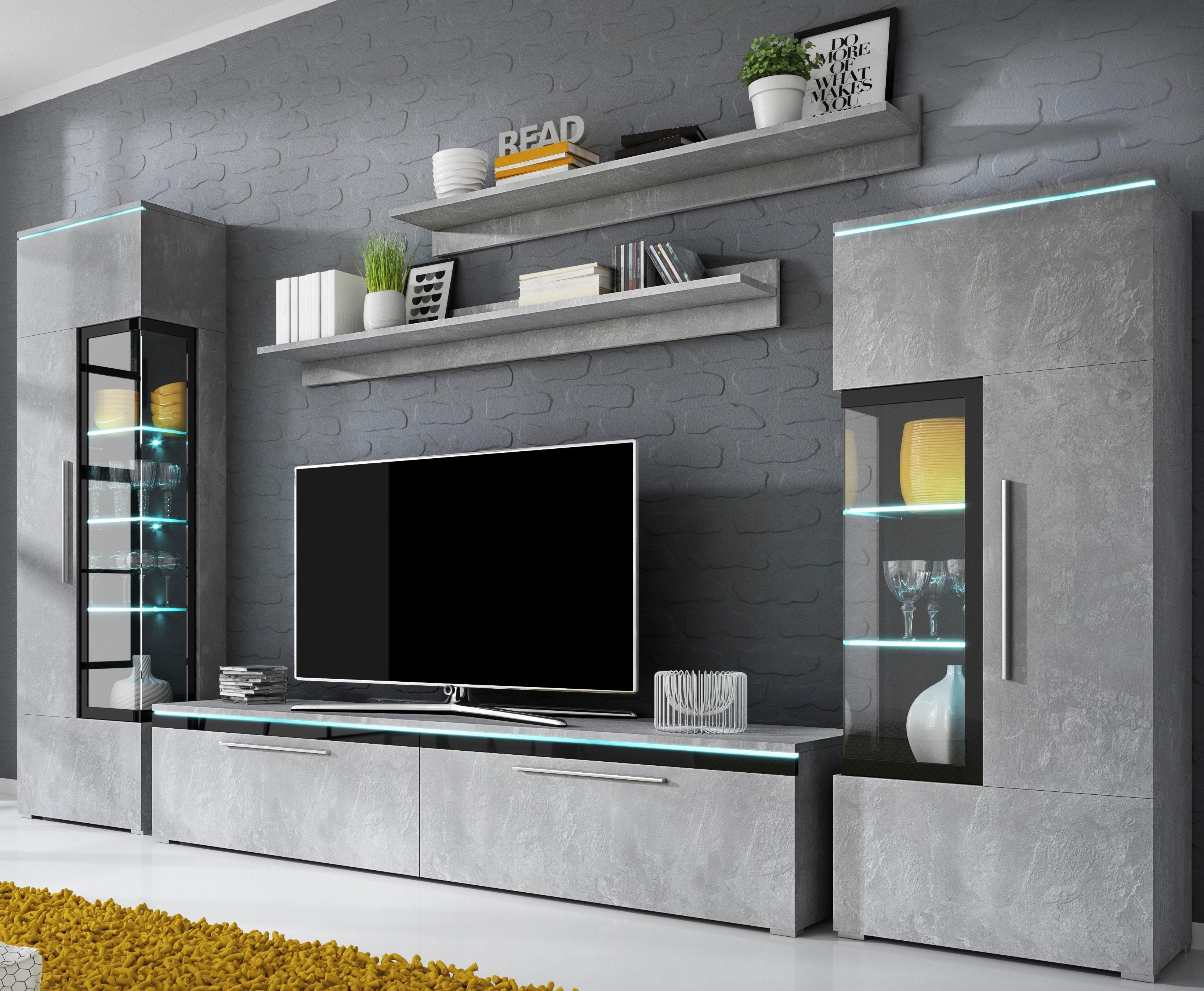 Tv wandmeubel kopen gratis verzending otto for Wohnwand cortino