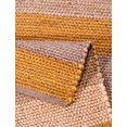 hennepkleed, home affaire collection, »hennep stripe«, met de hand geweven beige
