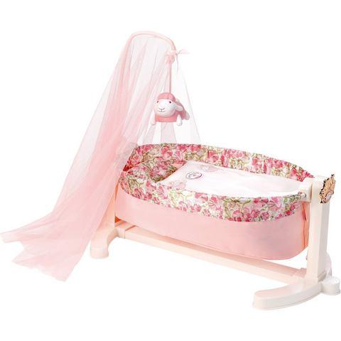 ZAPF CREATION interactief poppenbed, »Baby Annabell® wieg met nachtlicht«