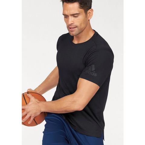 adidas FreeLift Prime T-shirt, Zwart, S, Male, Training