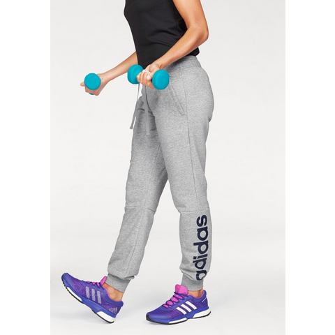 NU 15% KORTING: ADIDAS PERFORMANCE joggingbroek »ESSENTIALS LINEAR PANT«