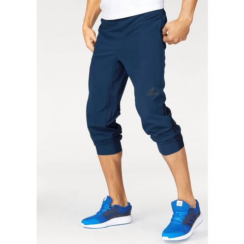 NU 15% KORTING: ADIDAS PERFORMANCE sportbroek »WORKOUT PANT CLIMACOOL WOVEN«