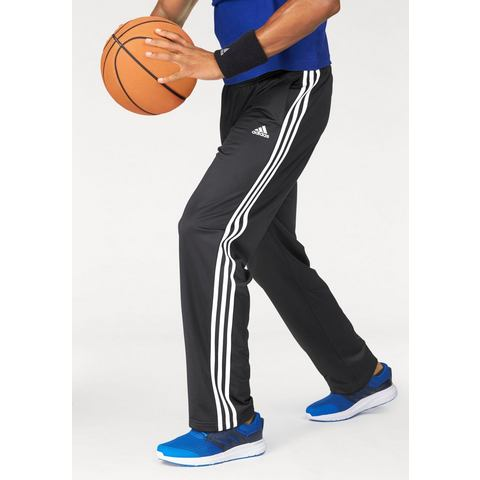 NU 15% KORTING: ADIDAS PERFORMANCE trainingsbroek »ESSENTIALS 3S REGULAR FIT TRICOT PANT«