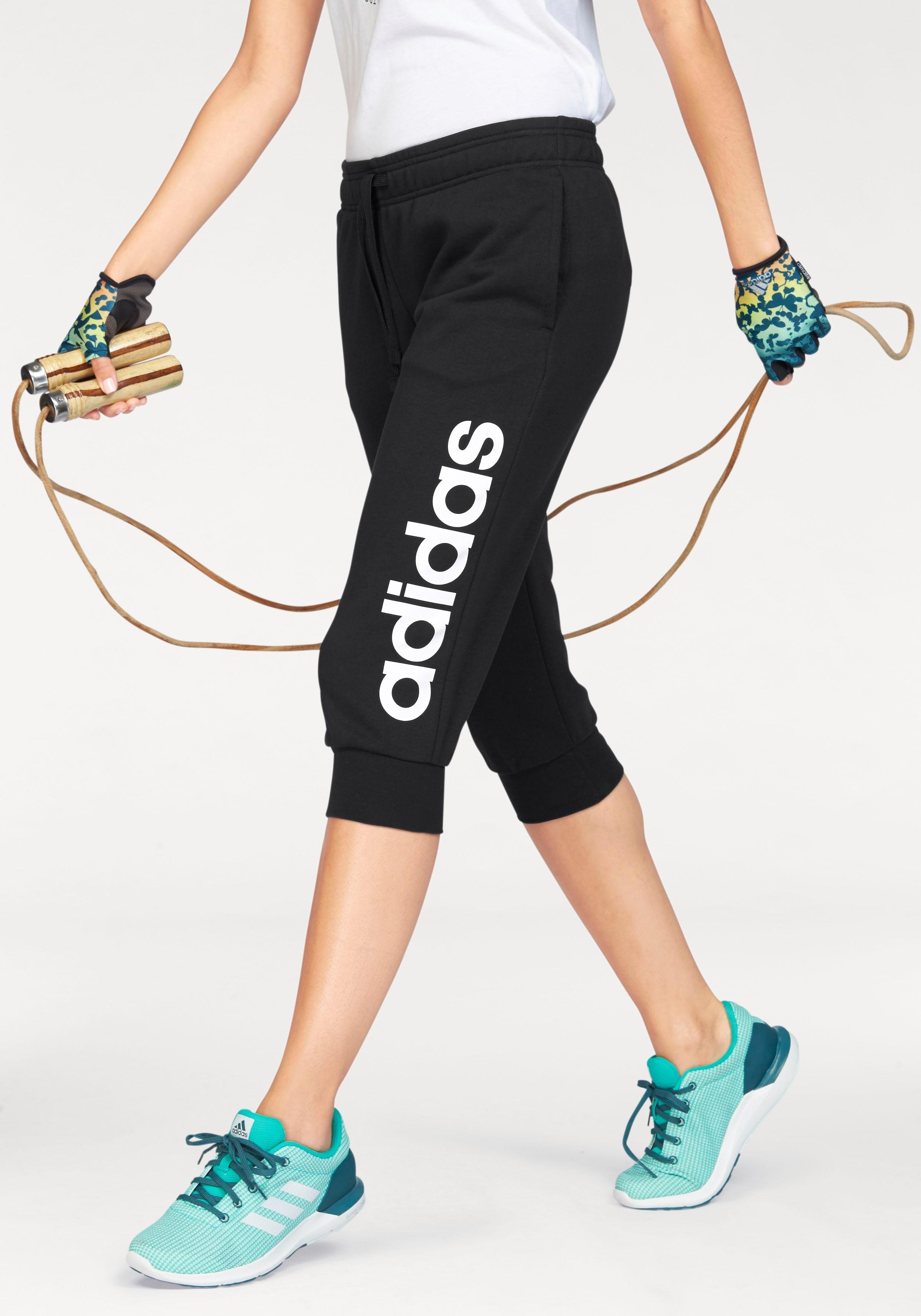 4 De Performance Adidas Linear Online In Winkel Pant Driekwartbroekessentials 3 qpUVGSzM