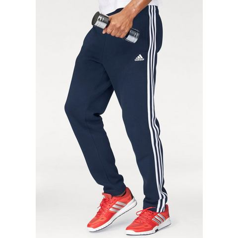 NU 15% KORTING: ADIDAS PERFORMANCE joggingbroek »ESSENTIALS 3S TAPERED FLEECE PANT«