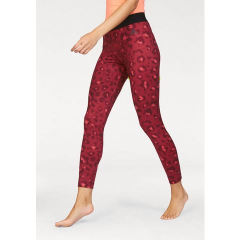 NU 15% KORTING: ADIDAS PERFORMANCE functionele legging »ESSENTIALS ALL OVER PRINTED TIGHT«